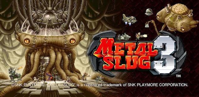 تحميل لعبة سبيكة معدنية Metal Slug 3 للاندرويد APK + DATA مجانا