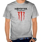 Kaos Distro Keren Monster Energy  SK69 Asli Cotton