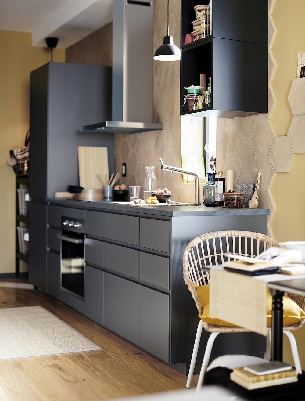 Nuevo catálogo IKEA 2020. Cocinas oscuras