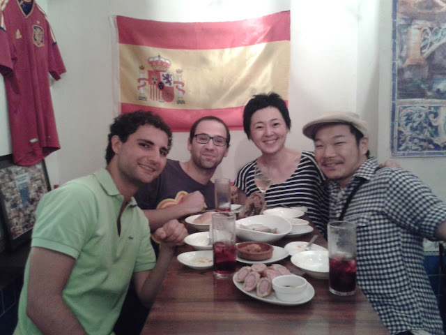 En un bar español en Tokio