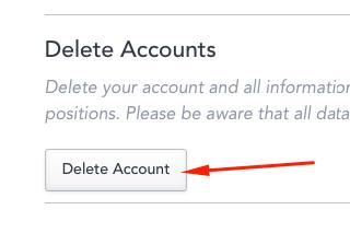 How to delete Your HackerRank account