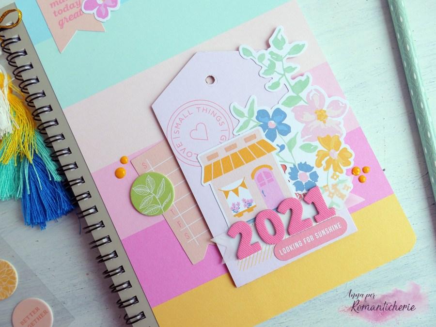 Memory Planner o Notes per il 2021 con le carte PinkFresh Studio