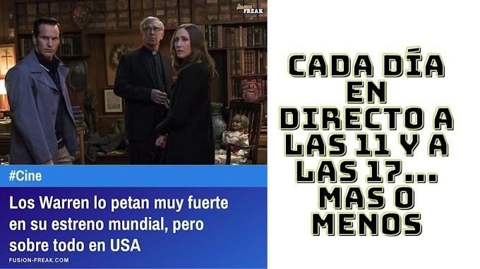 LOS WARREN lo petan muy fuerte en su estreno mundial, pero sobre todo en USA
