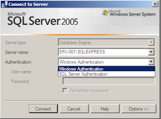Login ke SQL Server