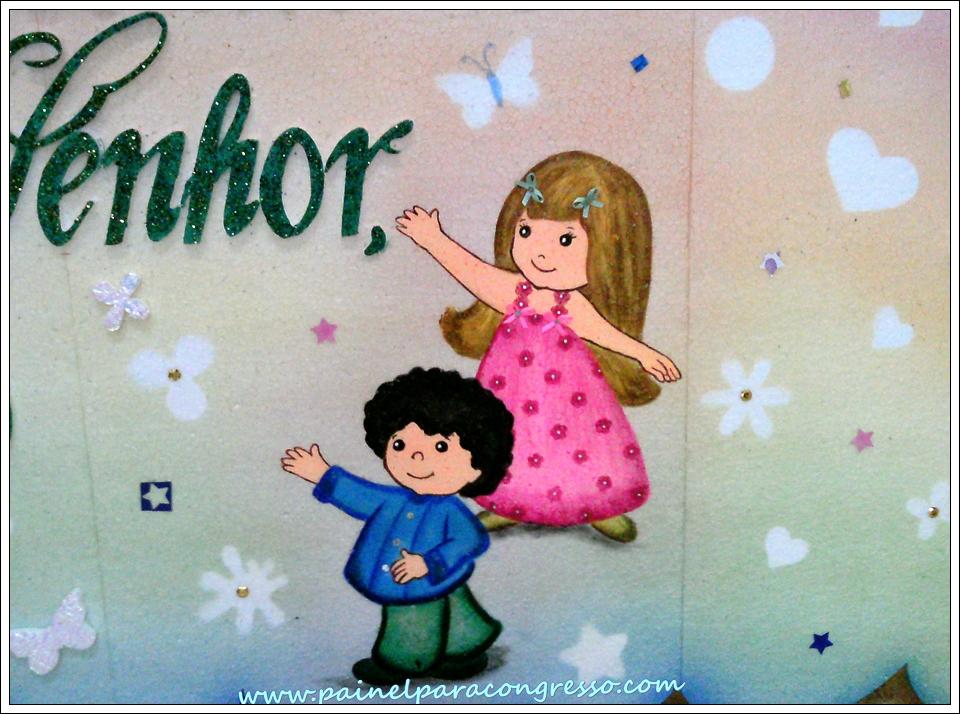 decoração para festividade infantil evangélica