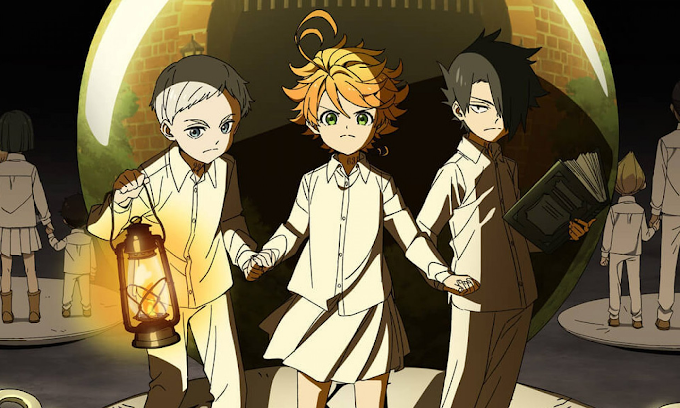"Novidades sobre 2ª temporada de ""The Promised Neverland"""