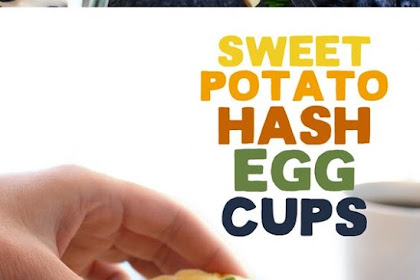 Sweet Potato Hash Egg Cups