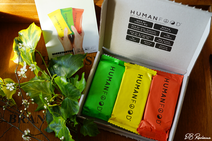 Human Food Organic Daily Nutrition Bar
