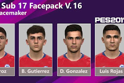 New (Chile) Facepack Vol.16 - PES 2017