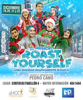 Poster Roast Yourself ¡El Musical! en Bogotá 2018