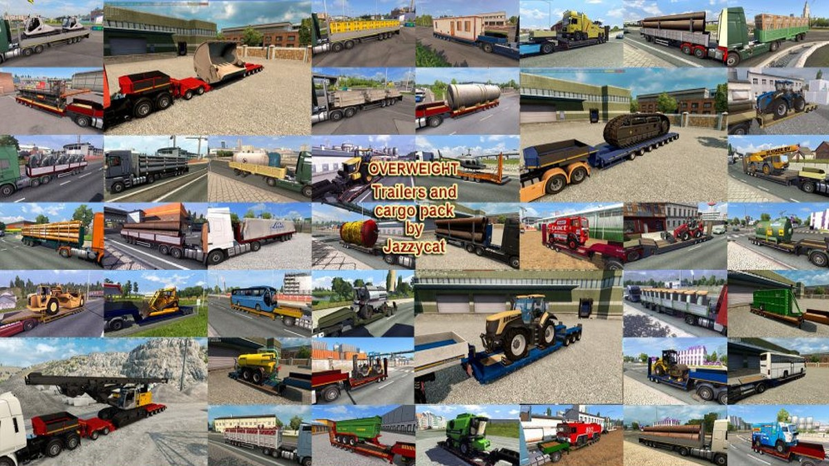 Jazzycat – Trailers and Cargo Pack 7.0