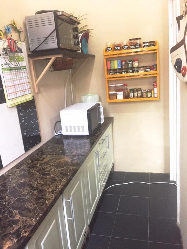 Dapur Saya Kecik Kira2 5petak Tile 4segi Tu Brg2 Mcm Pinggan