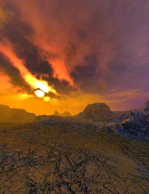 Bryce 3D Landscape