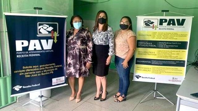 Serviços da Receita Federal são oferecidos em São José do Bonfim em projeto de Posto de Atendimento Virtual