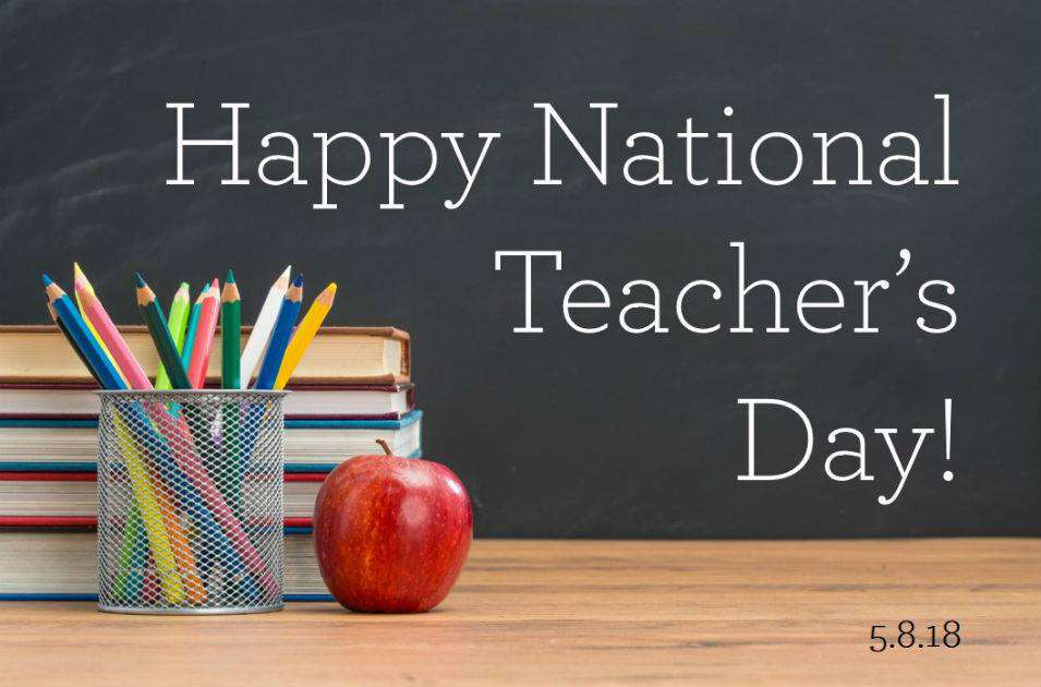 National Teacher Day Wishes Unique Image