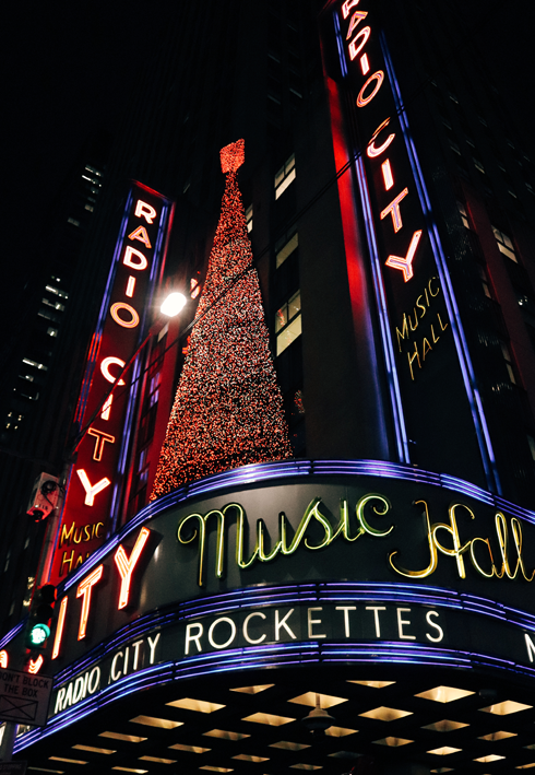 Radio City Music Hall New York City