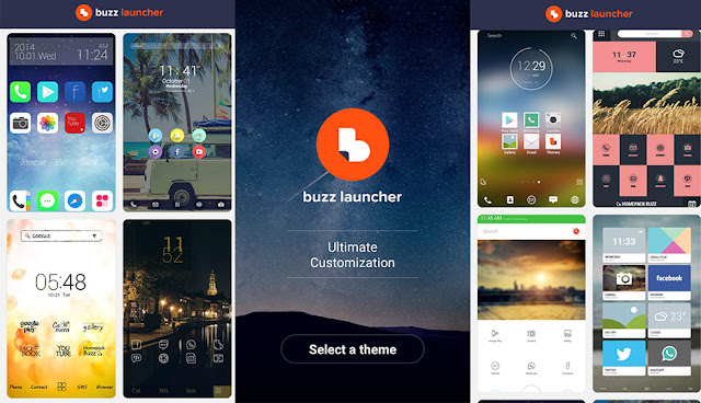 Buzz Launcher best launchers for android