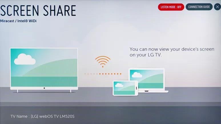 cara menyambungkan android ke tv lg