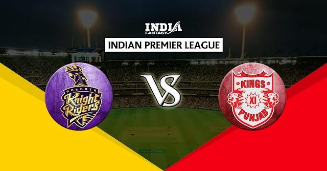 Kolkata vs Punjab IPL 2020 Preview and Prediction Live streams