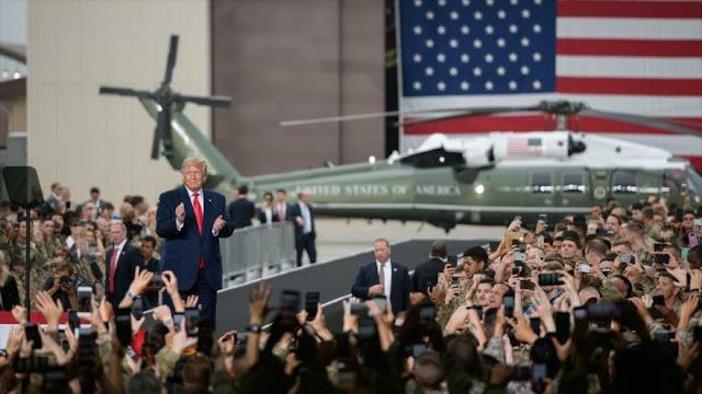 Trump dice que EEUU producirá nuevas armas nucleares