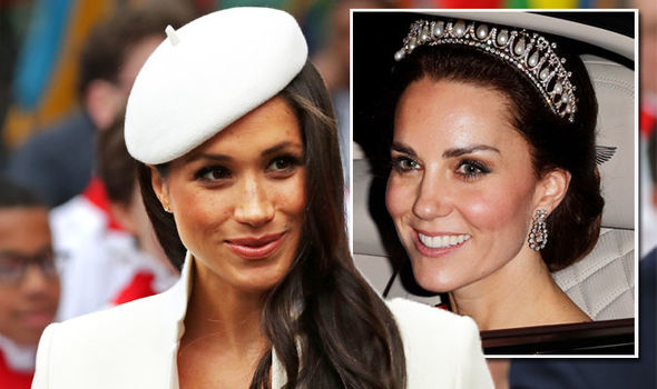 About William And Kate Will Meghan Markle Wear A Tiara On Her Wedding Day