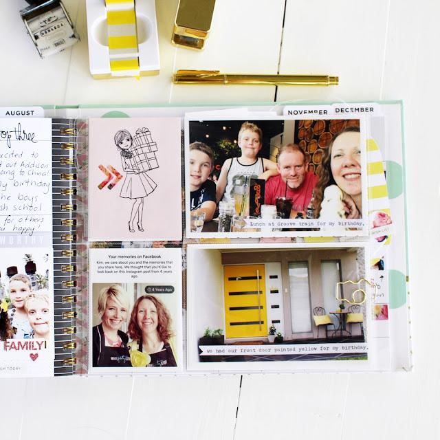 Heidi Swapp memory planner