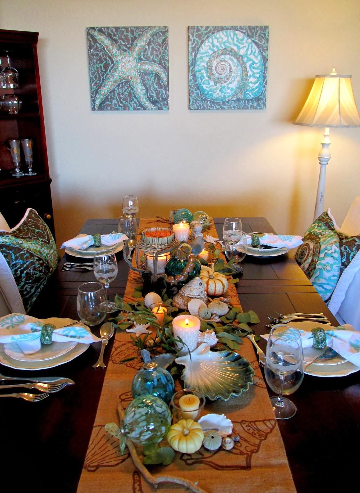 Everything Coastal Caron S Fall Thanksgiving Dining Room