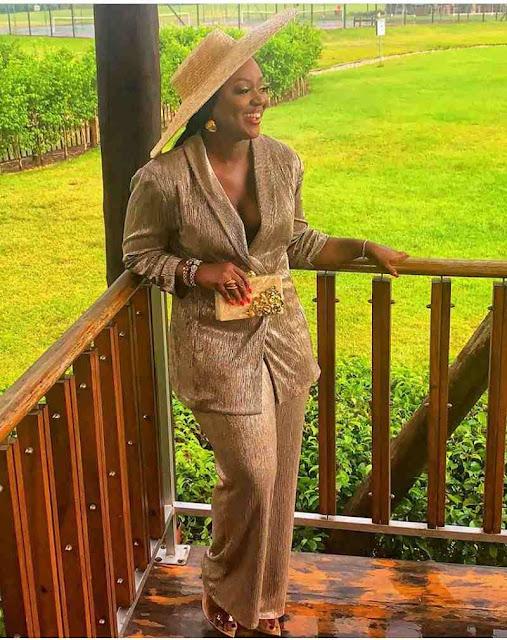 Jackie Appian's dressing