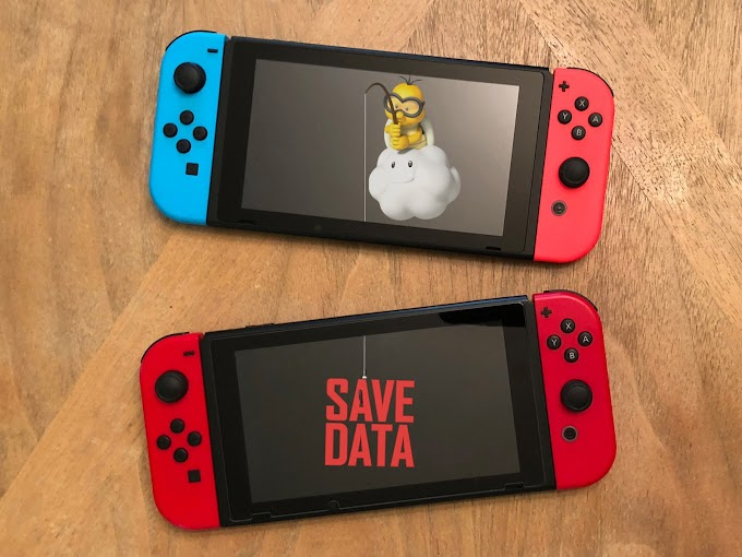 Switch games save