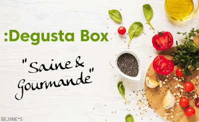 Unboxing DegustaBox de Septembre 2019 : Saine et Gourmande