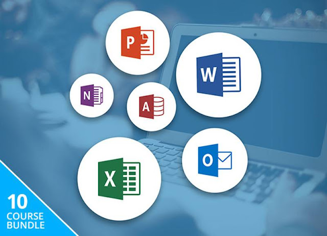 MS Office Training Course Bundle Word , Powerpoint , Excel & Outlook