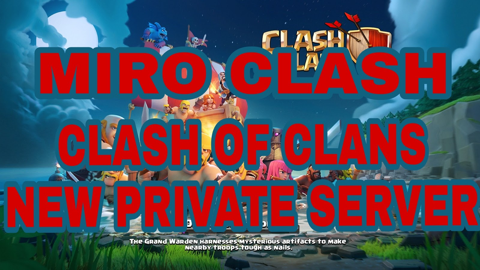 how to get a private server on clash of clans