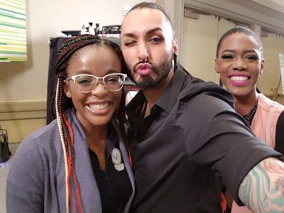 The Makeup Show Orlando 2018 with Nick Lujan - www.modenmakeup.com