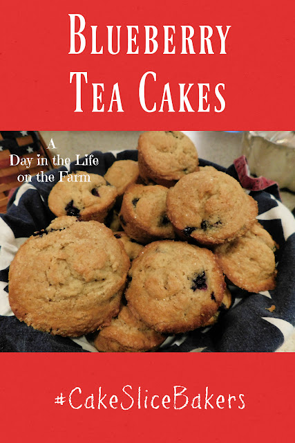 Earl Grey and Blueberry Tea Cakes