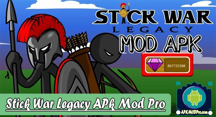 Stick War: Legacy 1.11.142 (MOD Unlimited Gems) Apk Mod Pro Terbaru 2019