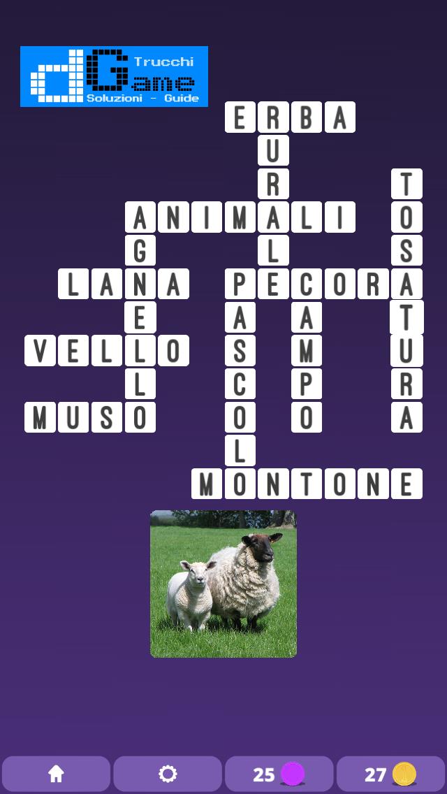Soluzioni One Clue Crossword livello 5 schemi intermedio (Cruciverba illustrato)  | Parole e foto