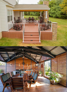 wooden roof & decks
