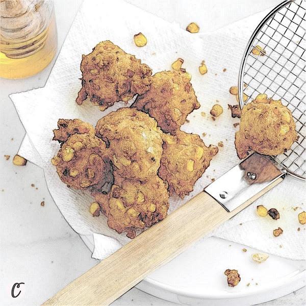 Golden Corn 🌽 Fritters