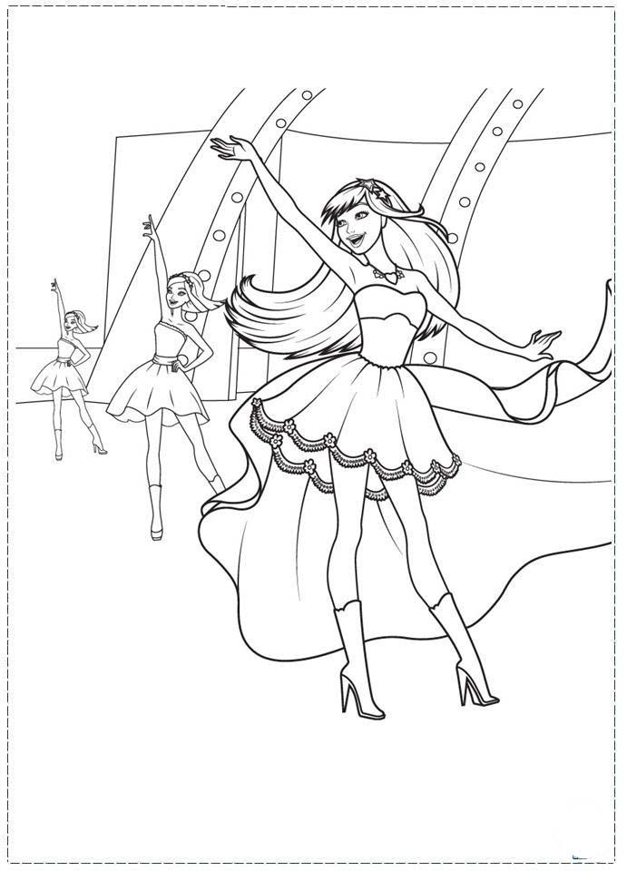 Malvorlagen Barbie Im Rockstar Camp My Blog