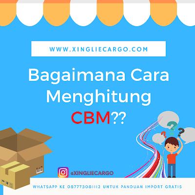 cara menghitung cbm