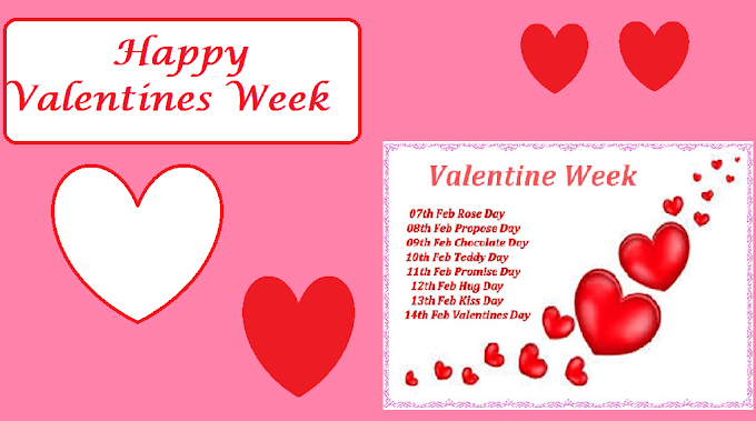 Valentine Week List 2021 ! Rose Day, Propose Day and Complete List of Day to Celebrate till Valentine`s day