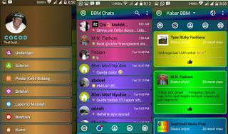 BBM MOD DISCO APK V3.3.0.16 [BBM Kelap Kelip]