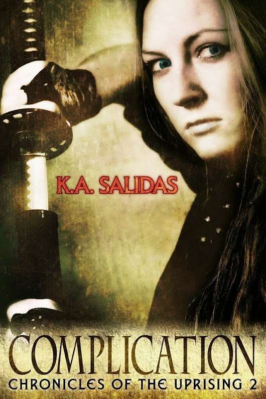 Paromantasy - For Paranormal Romance & Urban Fantasy Fans: Review of Paranormal Dystopian Fantasy book: Dissension (Chronicles of the Uprising) by Katie Salidas and Giveaway!!
