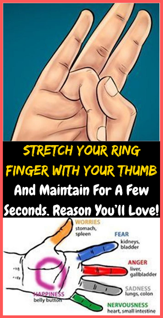 Stretch Your Ring Finger With Your Thumb And Maintain For A Few Seconds. Reason You'll Love!