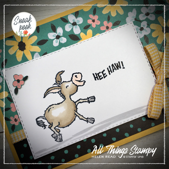 Stampin Up Darling Donkeys Sale-a-Bration SAB