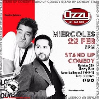Distrito Comedia DC en Ozzy Bar