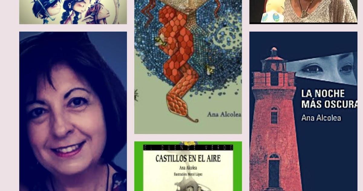 Encuentro con... Ana Alcolea | Red de Bibliotecas de Hellín