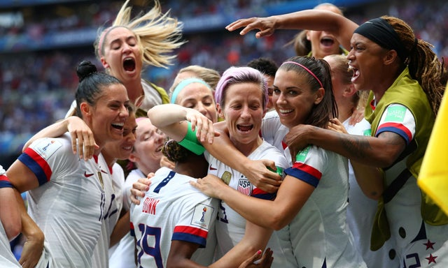 USA beat The Netherlands 2 - 0 to win the FIFA Women's World Cup