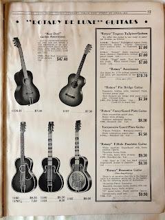 Rotary De Luxe guitars