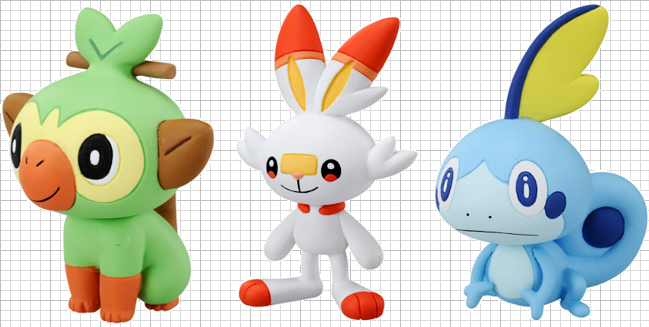 Tomy has Announced new Sword and Shield Figures!